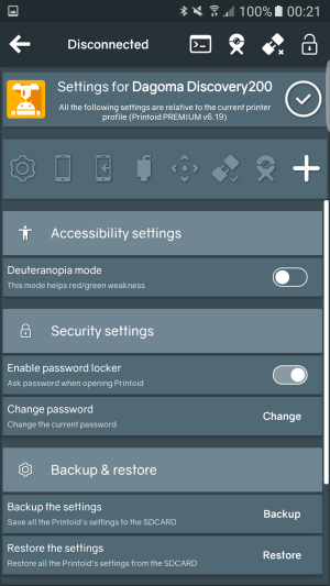 (Activate the locker and customize the passord in the security settings)